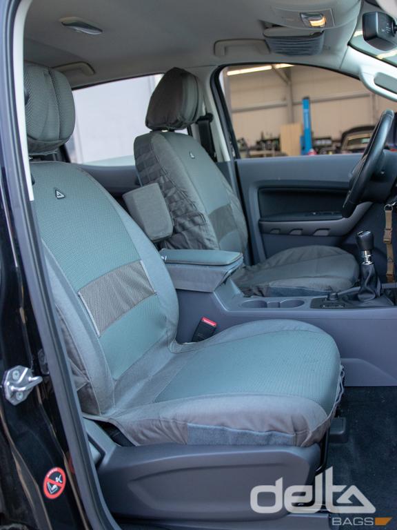 Passenger Seat Cover Ford Ranger Schwarz