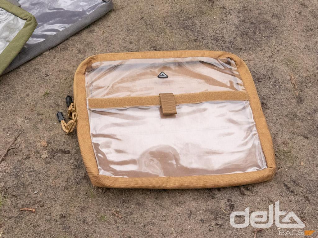 Velcro Bag Trunk Clear