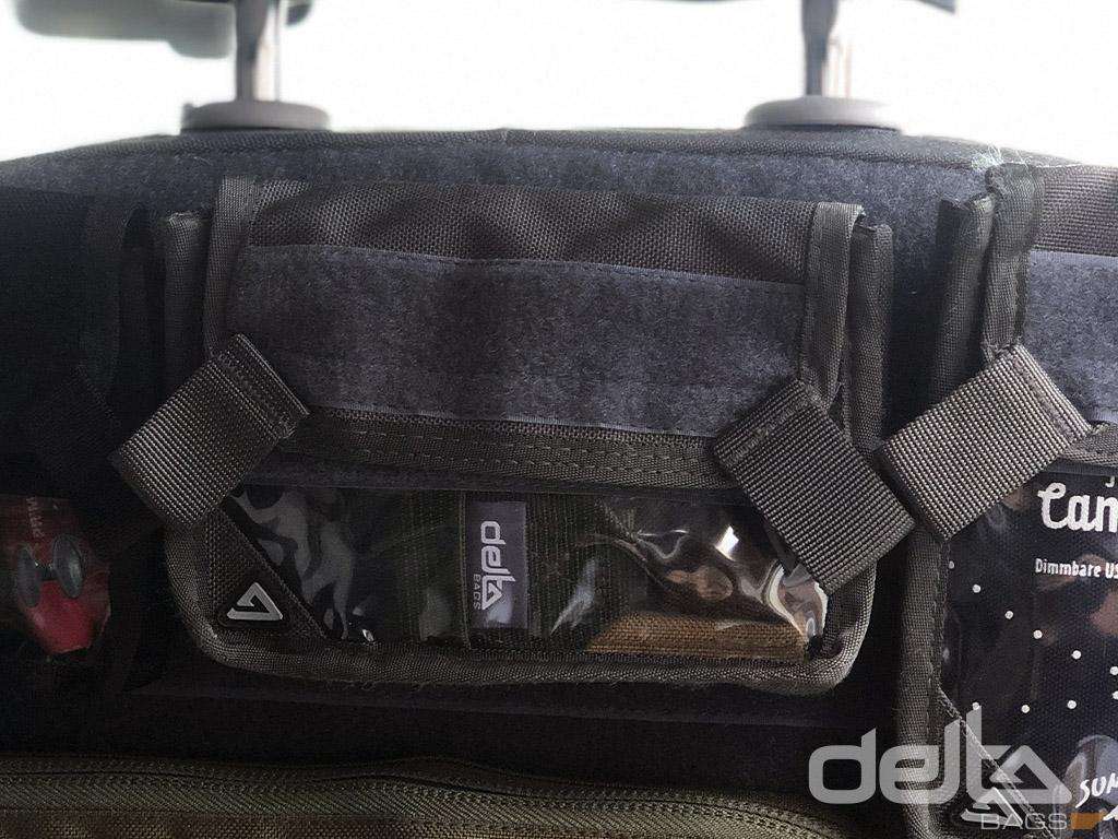 Velcro Bag Clear V