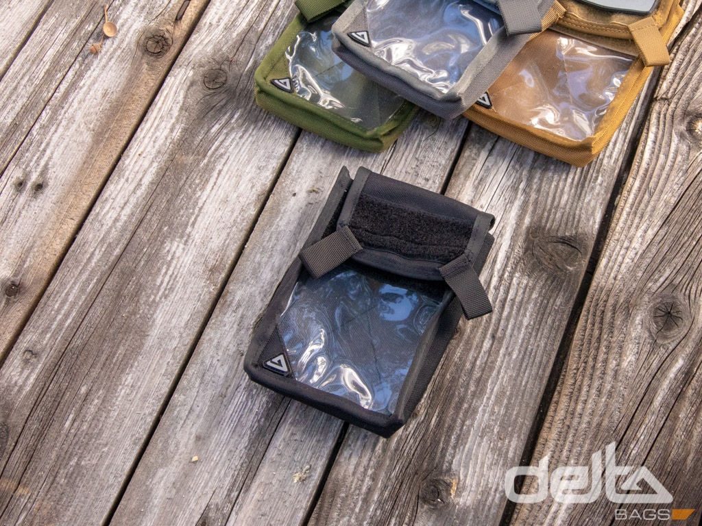Velcro Bag Clear XL