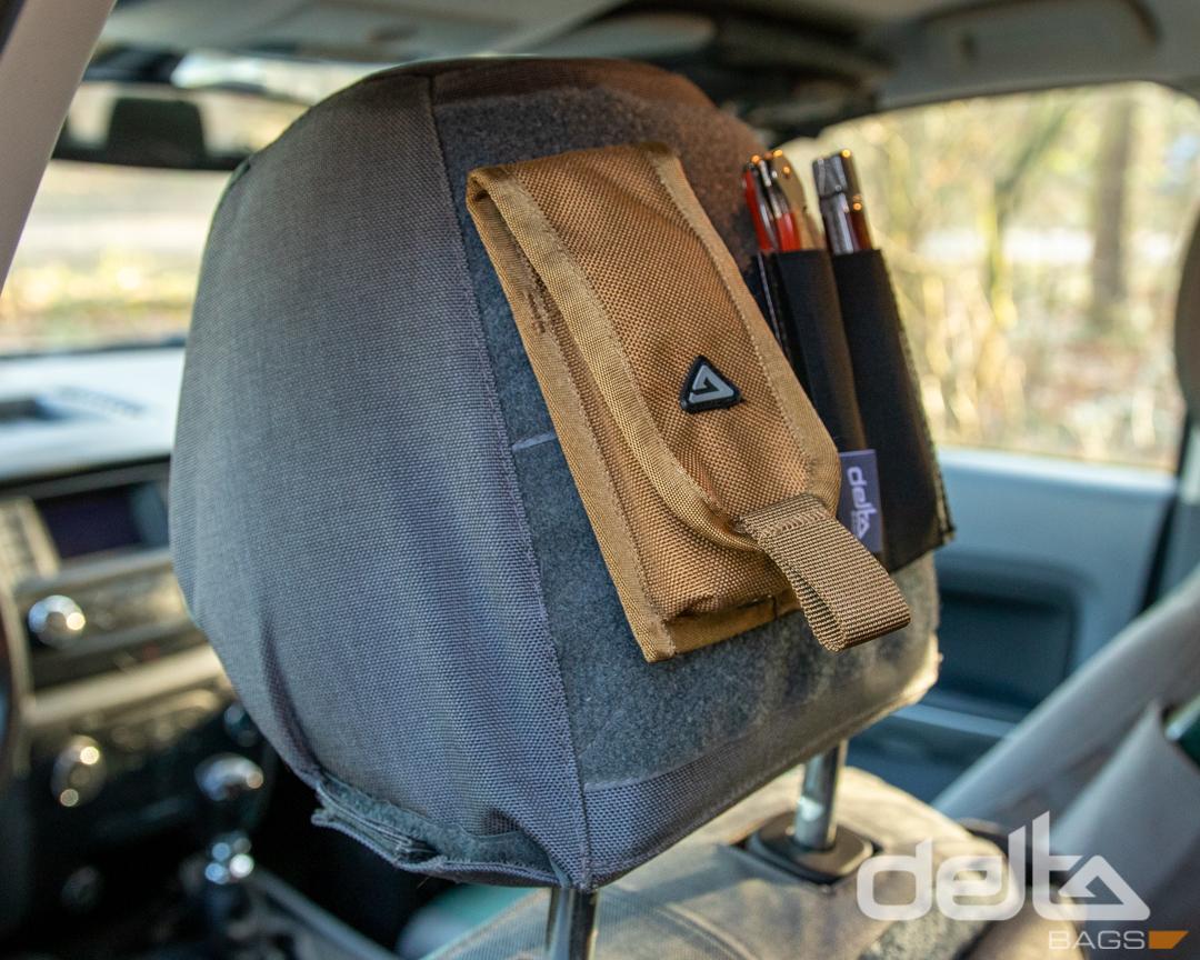 Headrest Cover VW T5/6 California, grau