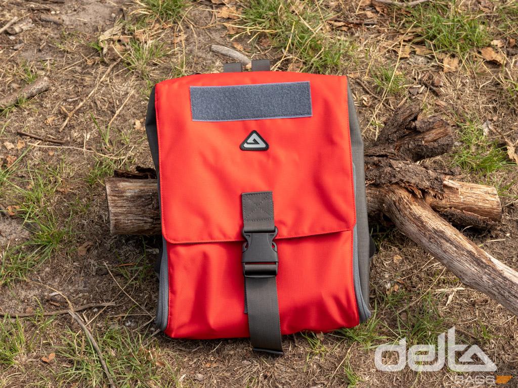 Medic Bag, XL Farngrün-Rot