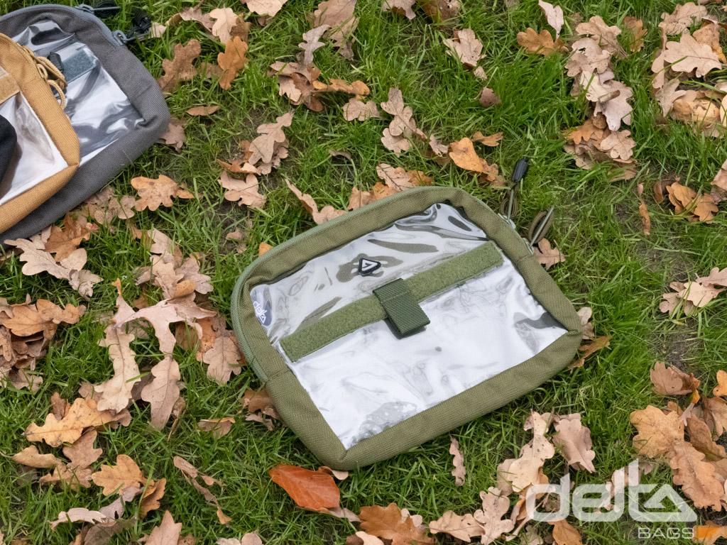 Velcro BagAccessorie Clear Schwarz