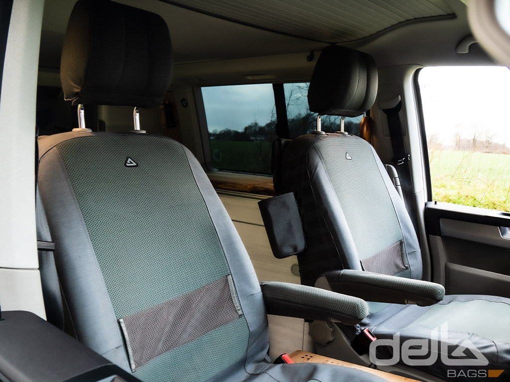 Passenger Seat Cover VW T5 mit Armlehne Farngrün