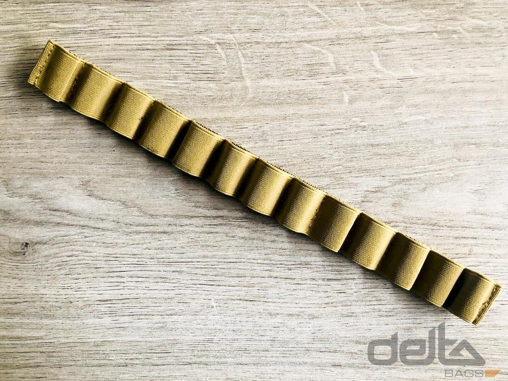 Velcro Gummiband Klettleiste, schwarz