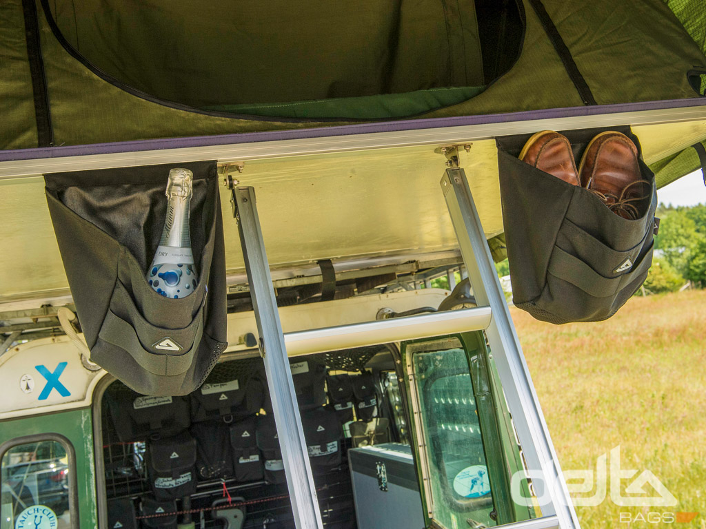 Tent Boot Holder